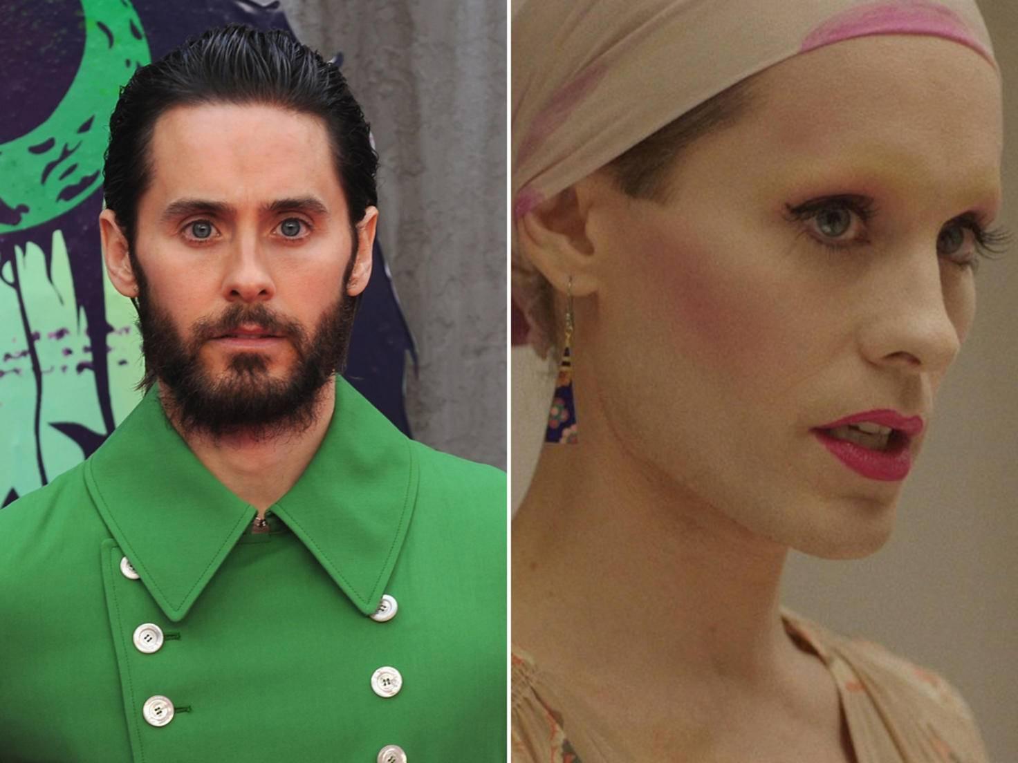 Jared Leto kann sich auch als Frau sehen lassen.