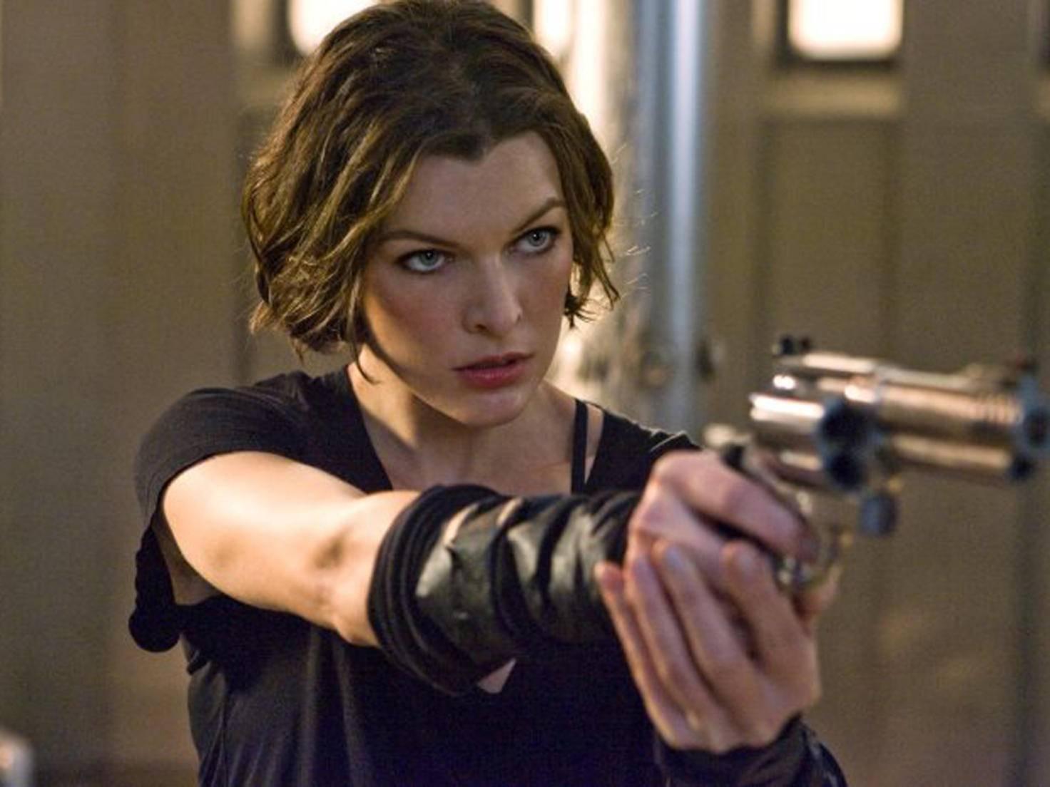 """Milla Jovovich verkörpert in """"Resident Evil"""" die starke Heldin."""