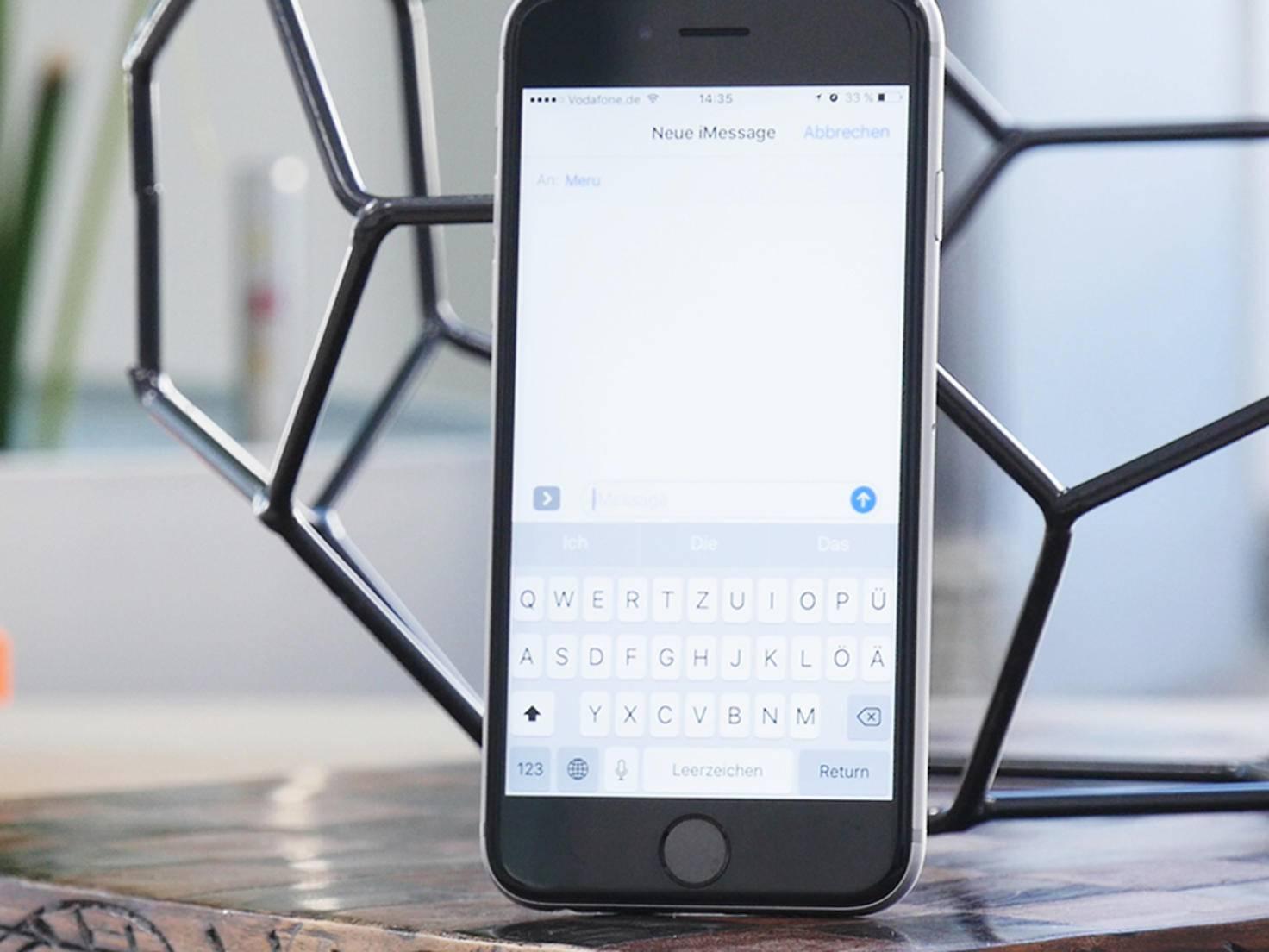 Help iOS 10 Tastatur