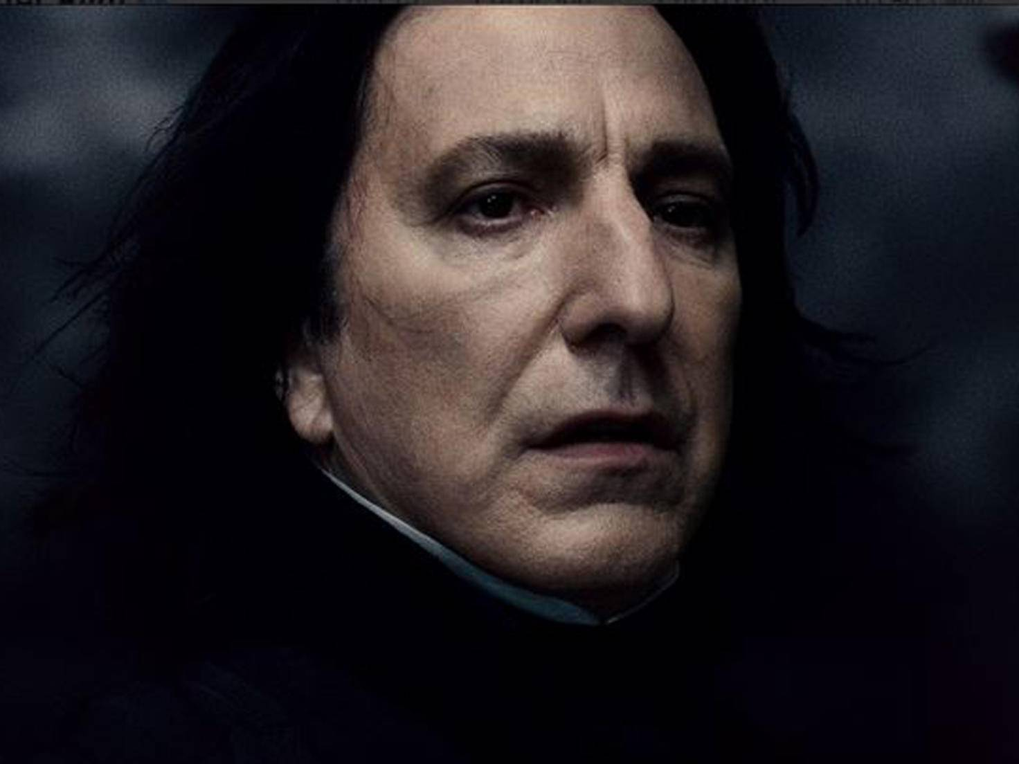 Professor Snape lässt sich nur schwer durchschauen.