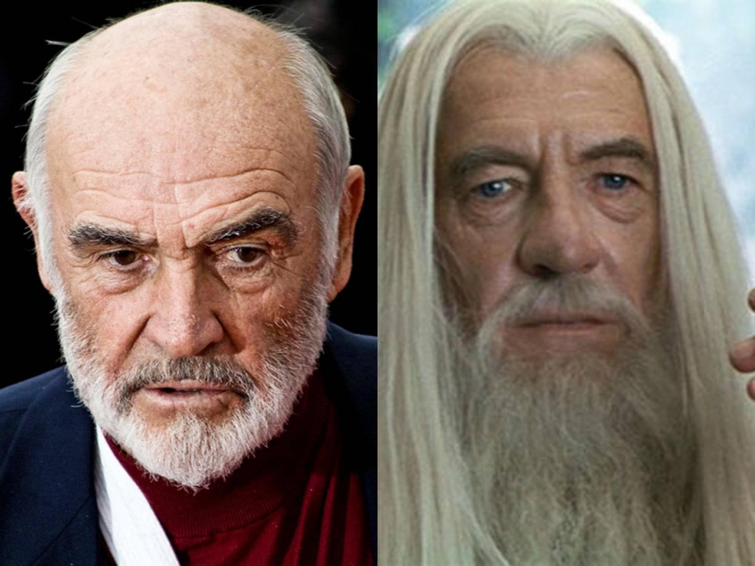 Chance verpasst: Fast eine halbe Milliarde Dollar Gandalf-Gage gingen Sean Connery durch die Lappen.