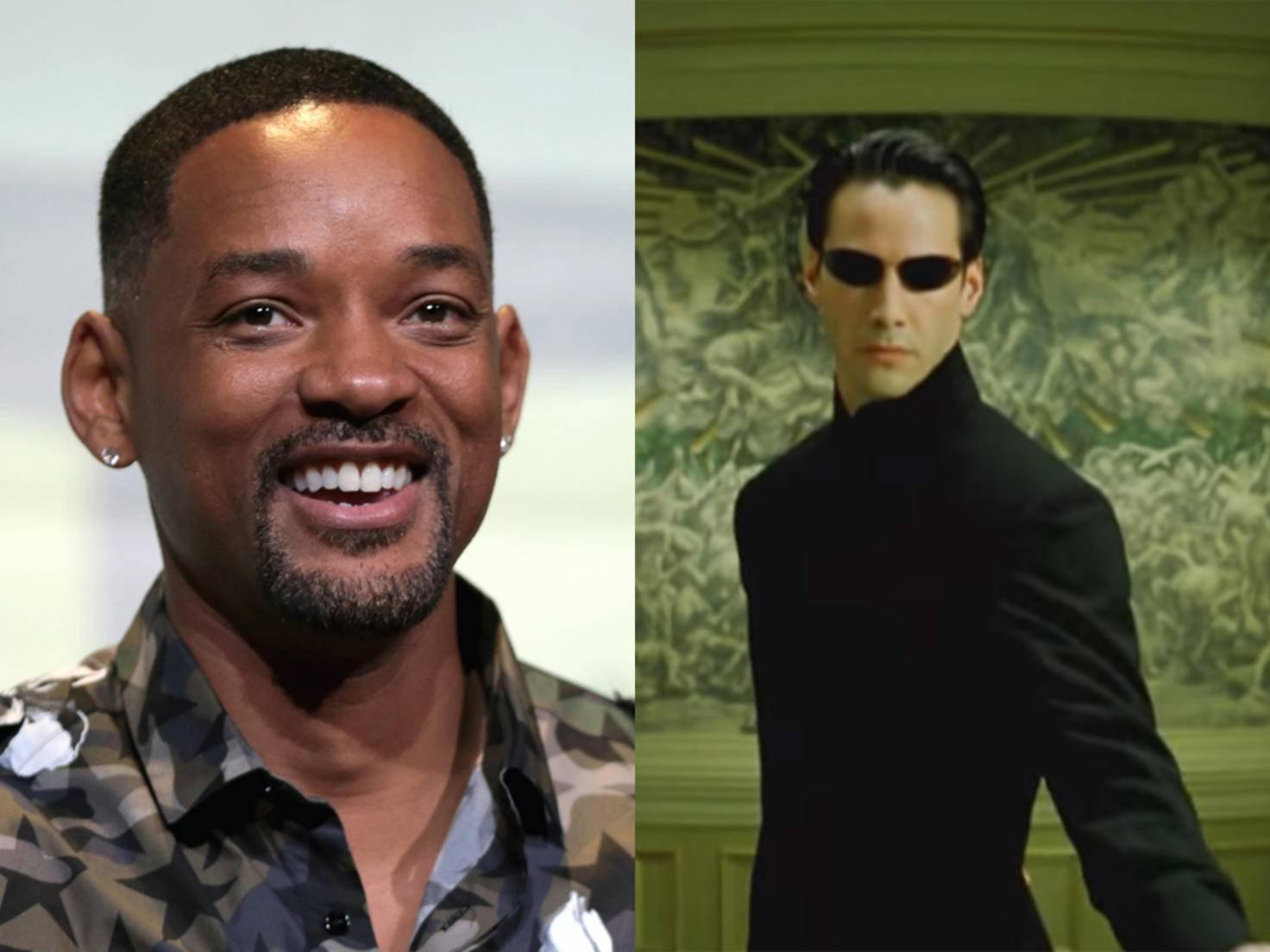 """Will Smith konnte """"Matrix"""" nicht viel abgewinnen."""