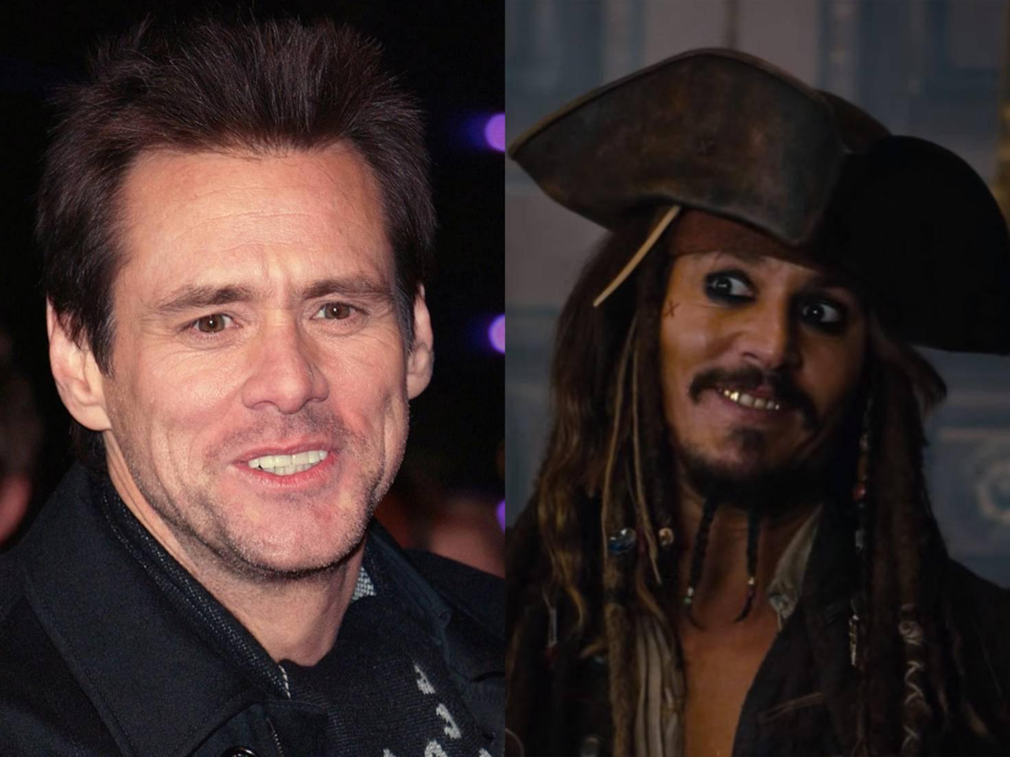 Keine Zeit: Jim Carrey verzichtete auf die Rolle des Jack Sparrow. Johnny Depp übernahm.