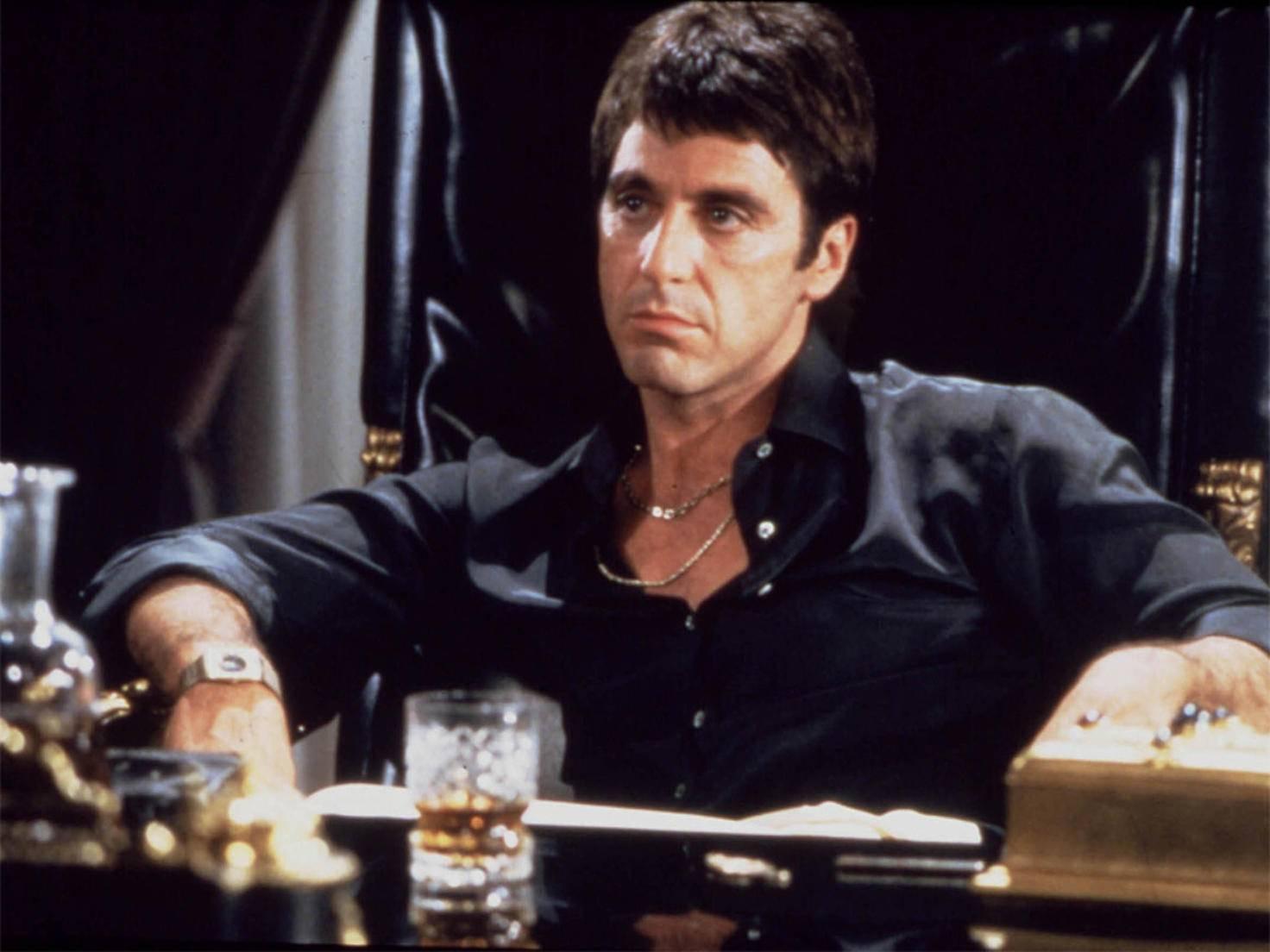 """Auch Al Pacino hat nicht nur in guten Filmen, wie etwa """"Scarface"""", mitgespielt."""