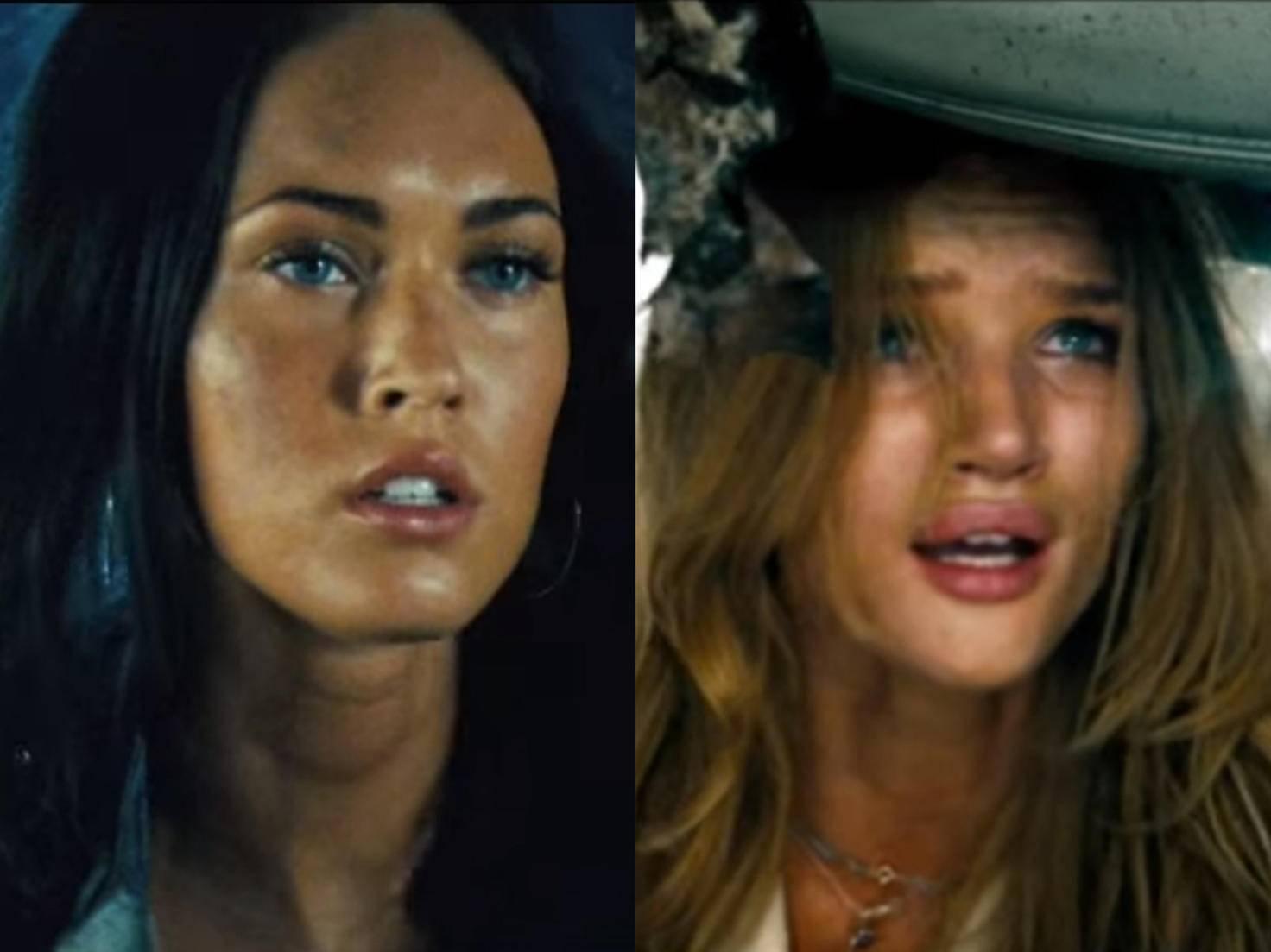 Die Zusammenarbeit mit Megan Fox gestaltete sich schwierig. Mit Rosie Huntington-Whiteley lief's besser.