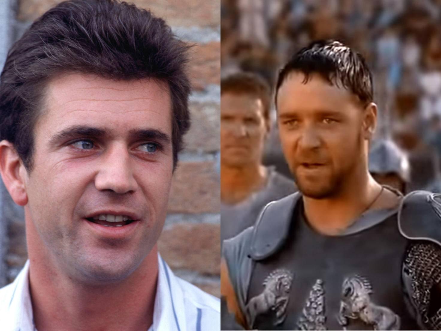"""Zu alt für Action? Mel Gibson hatte keine Lust auf """"Gladiator""""."""