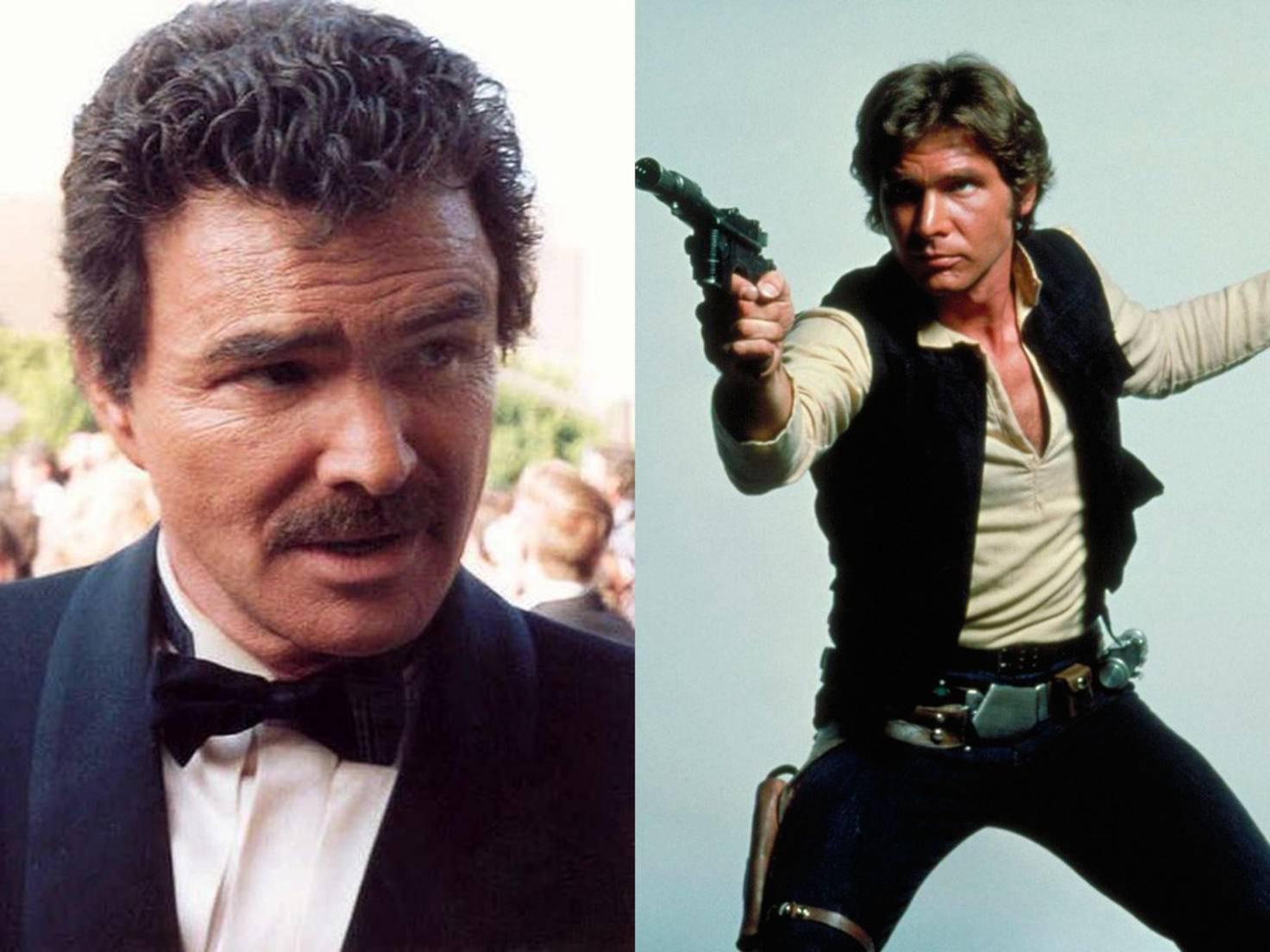 Burt Reynolds hätte Han Solo spielen können, wollte aber nicht.