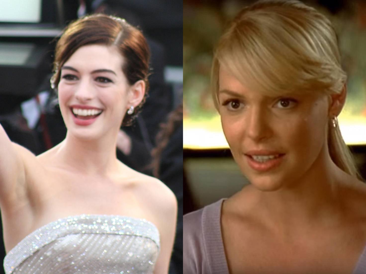 """Katherine Heigl schnappte Anne Hathaway die Hauptrolle in """"Beim ersten Mal"""" weg."""