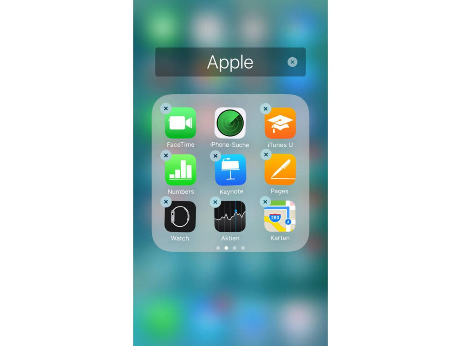 iOS 10 System-Apps