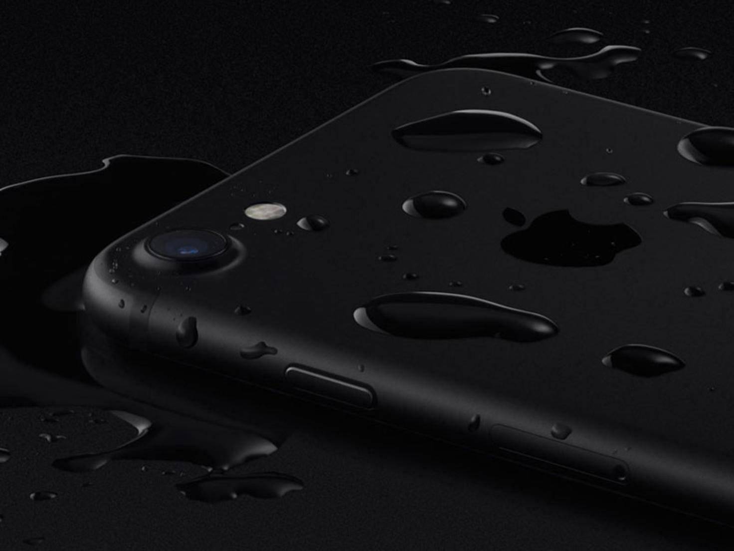 iPhone 7 Wasser
