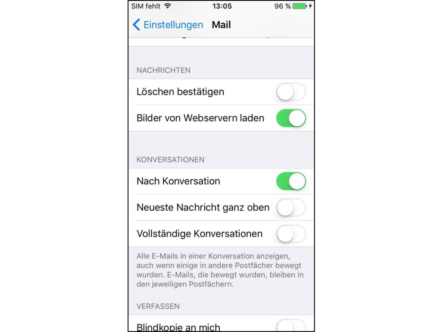 iPhone Mail keine Konversationen.jpg