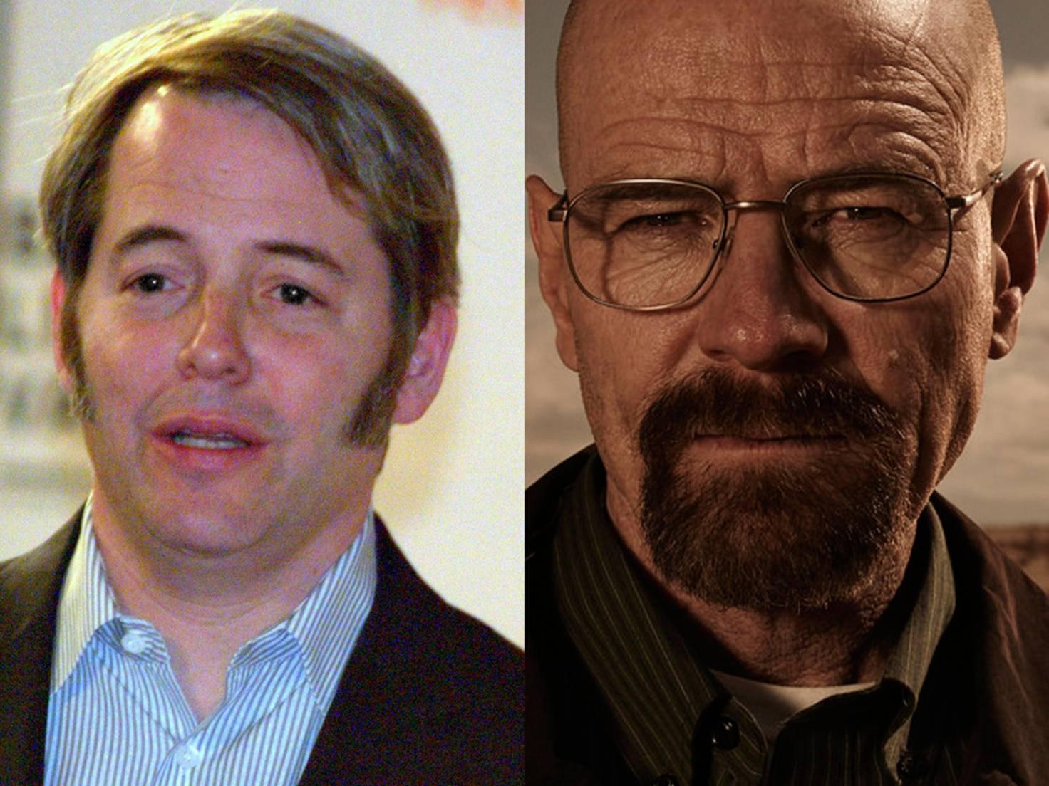 """Matthew Broderick wollte die Rolle des Walter White in """"Breaking Bad"""" nicht. Pech für ihn, Glück für Bryan Cranston."""