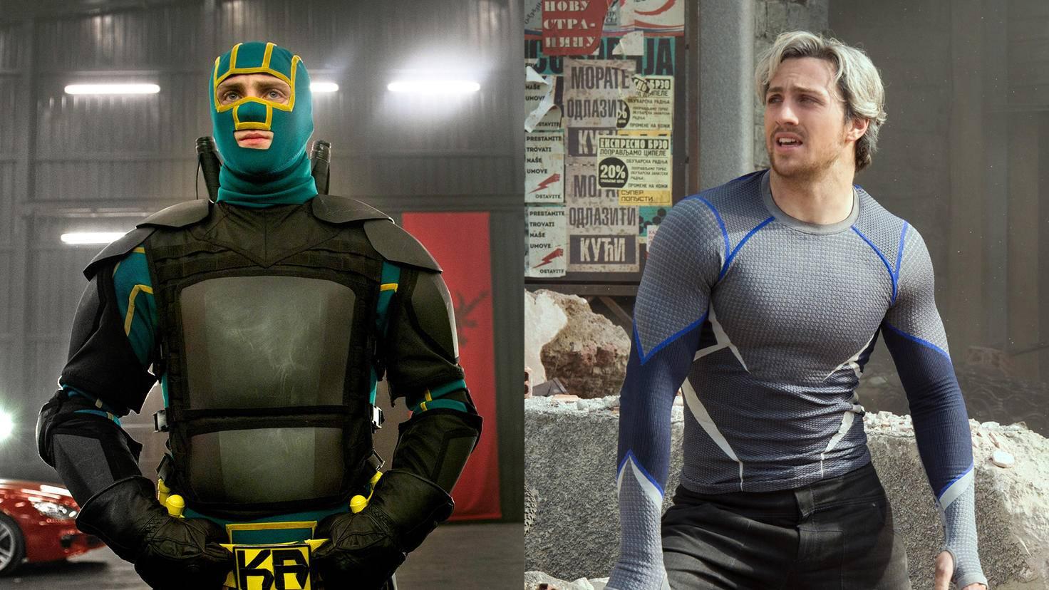 Kick Ass und Quicksilver: Aaron Taylor Johnson verkörperte zwei gänzlich unterschiedliche Superhelden.