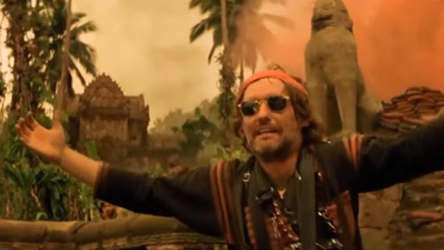 """Gemeinsame Bilder von Marlon Brando und Dennis Hopper vom """"Apocalypse Now""""-Set sucht man vergebens."""