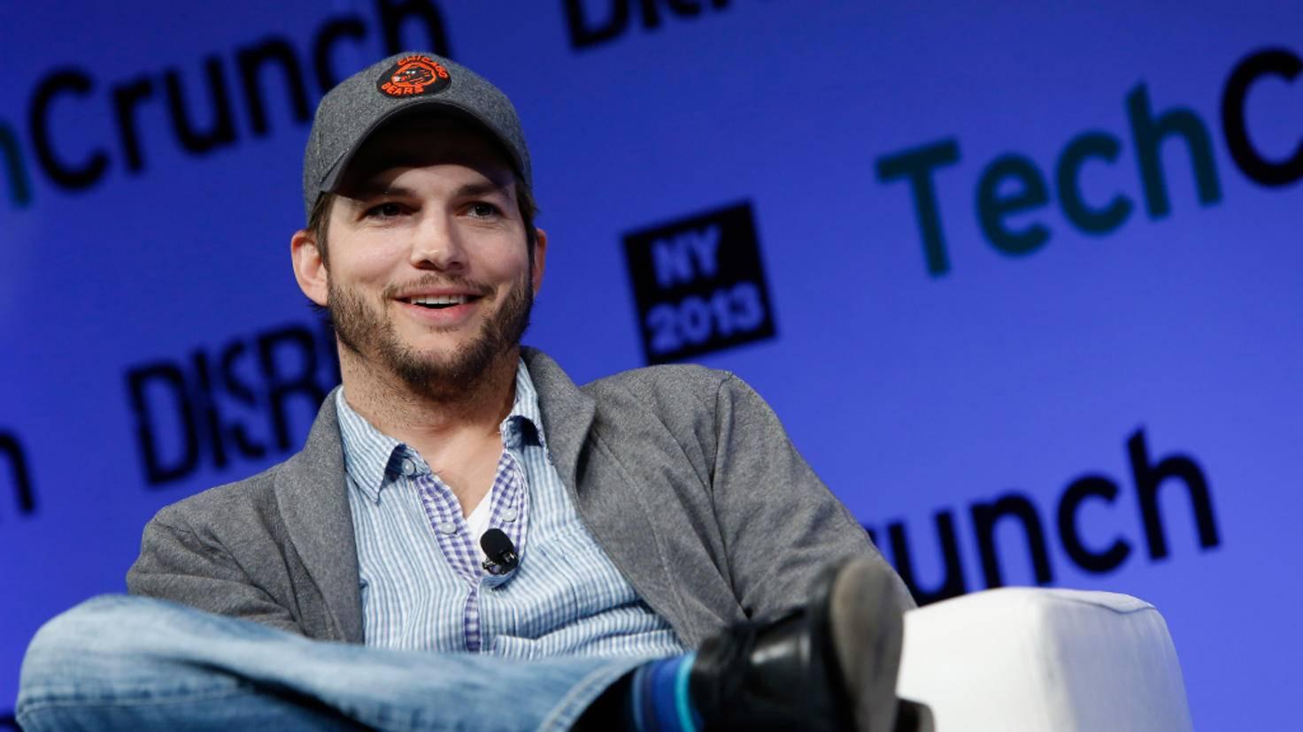Ashton Kutcher steht auf Tech-Start-ups.