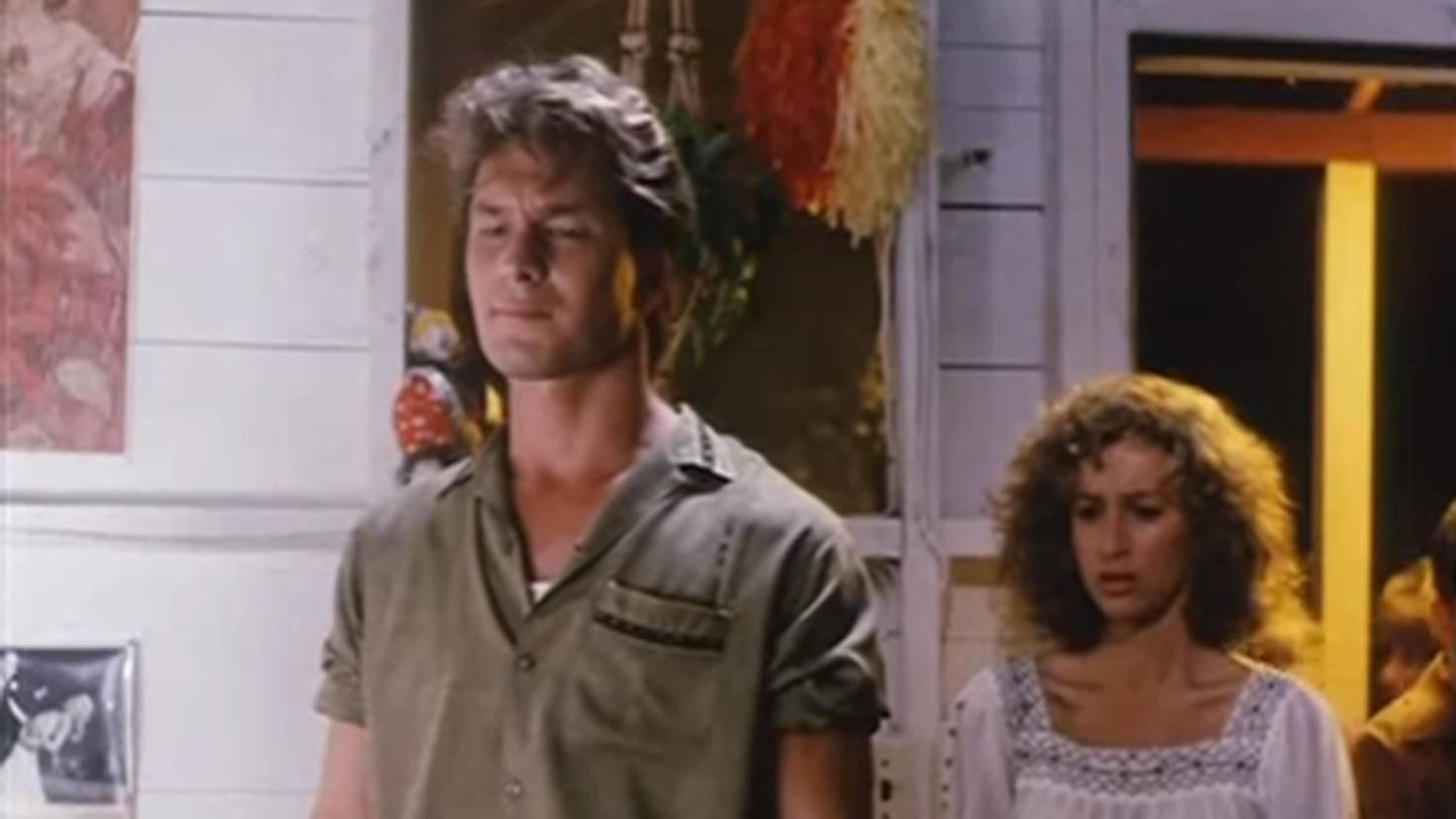 Patrick Swayze und Jennifer Grey waren nur auf der Leinwand ein Herz und eine Seele.