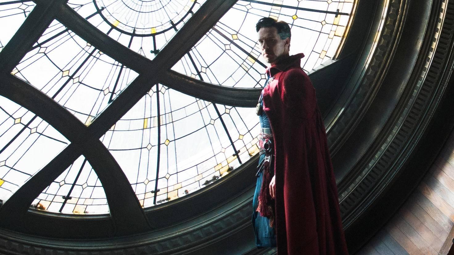 """Manche Szenen aus """"Doctor Strange"""" sehen schon auf der Kinoleinwand aus wie ein Videospiel."""