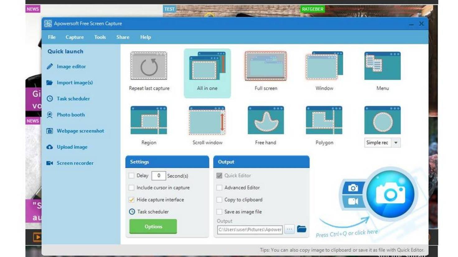 Screenshot-Programm
