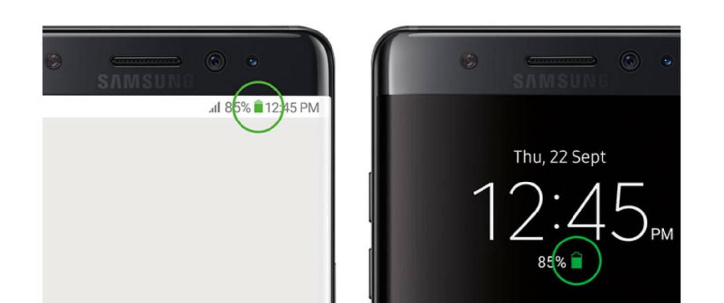 Galaxy Note 7 Akku