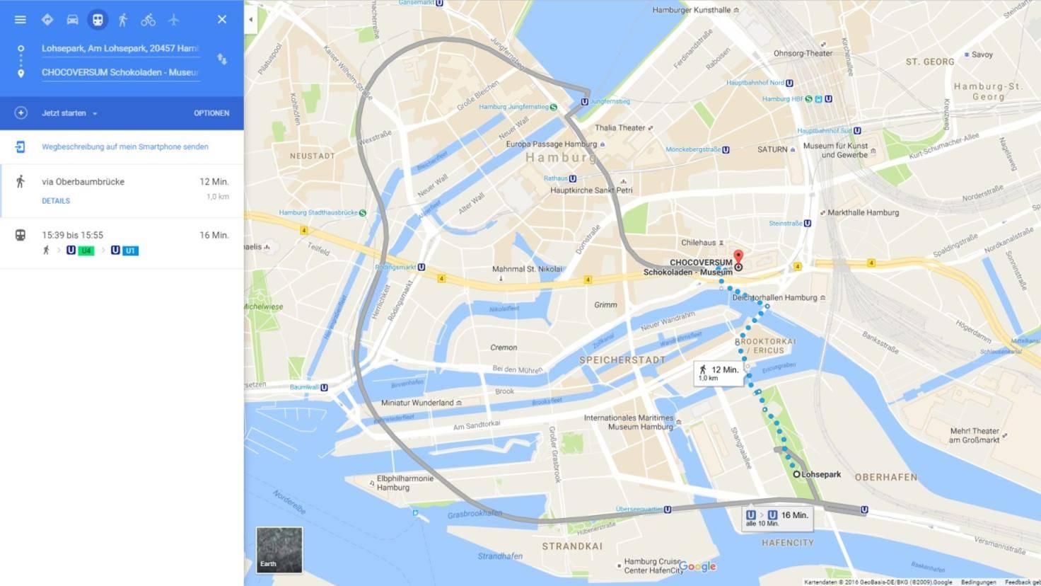 Google Maps Hamburg