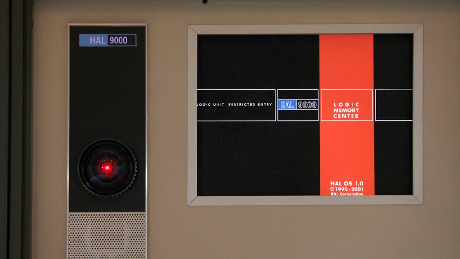 Optisch ist Hal 9000 nicht gerade ansprechend ...
