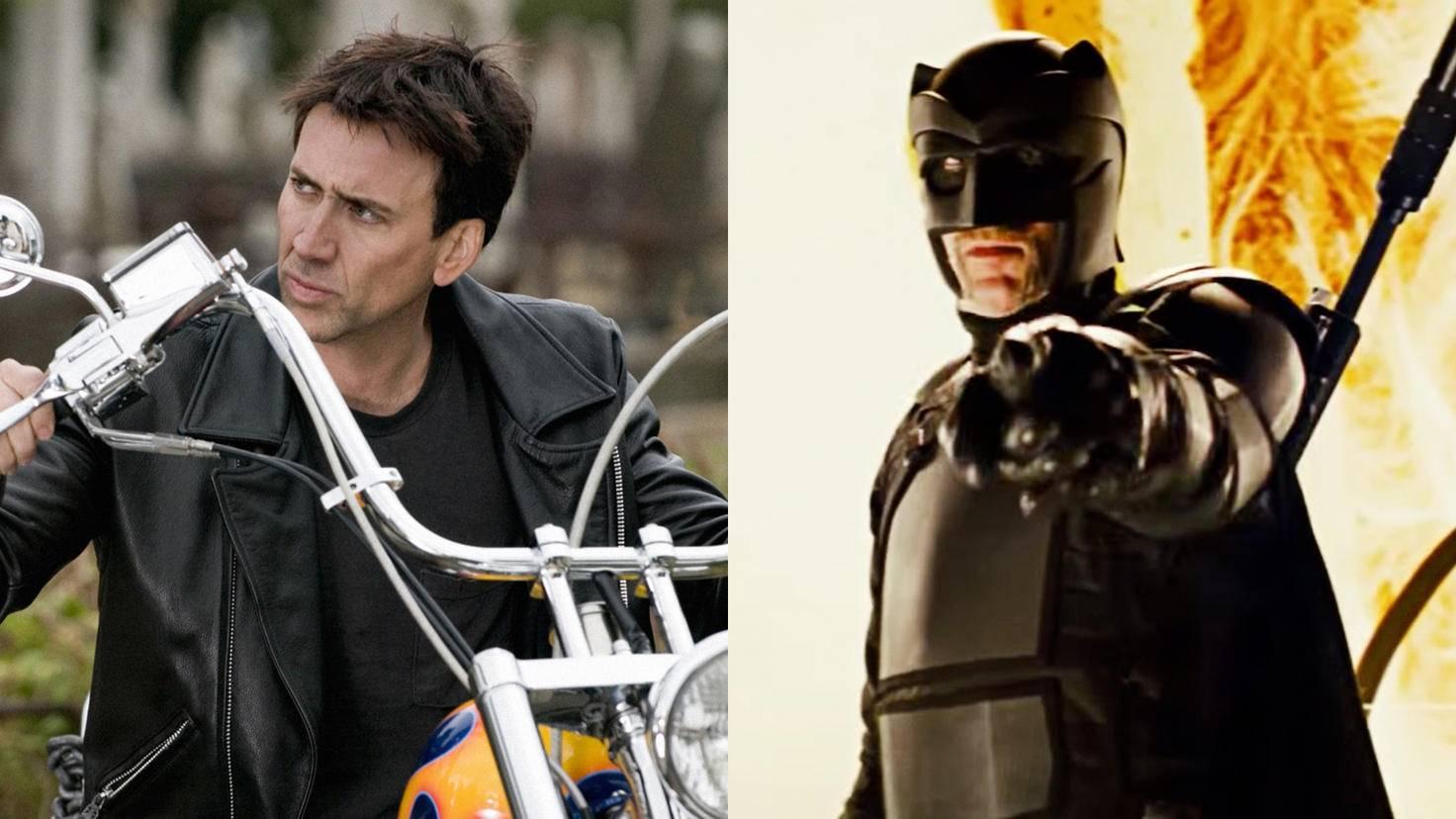 Die bösen Jungs sollten sich warm anziehen – egal, ob sie Nicolas Cage als Ghost Rider oder Big Daddy begegnen.