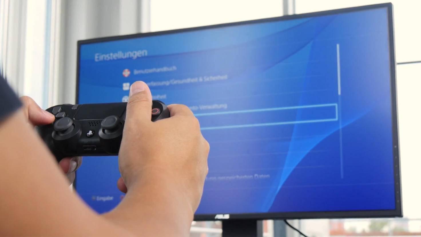 Über das Einstellungen-Menü der PS4 kannst Du Deine Spielstände sichern und übertragen.