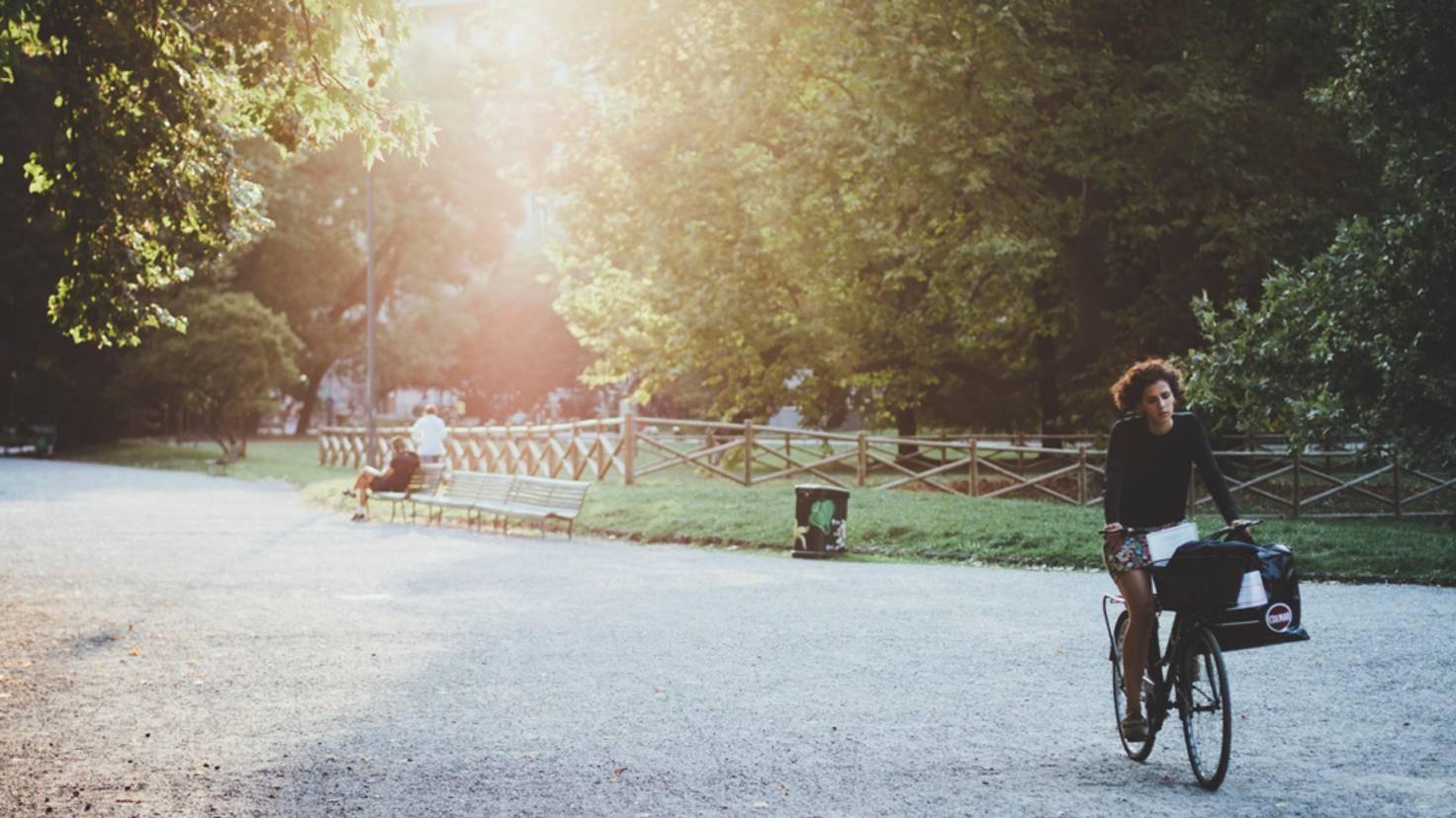 Ob zur Arbeit, zu Bekannten oder zum Shoppen: Mit dem Fahrrad kommst Du überall hin.