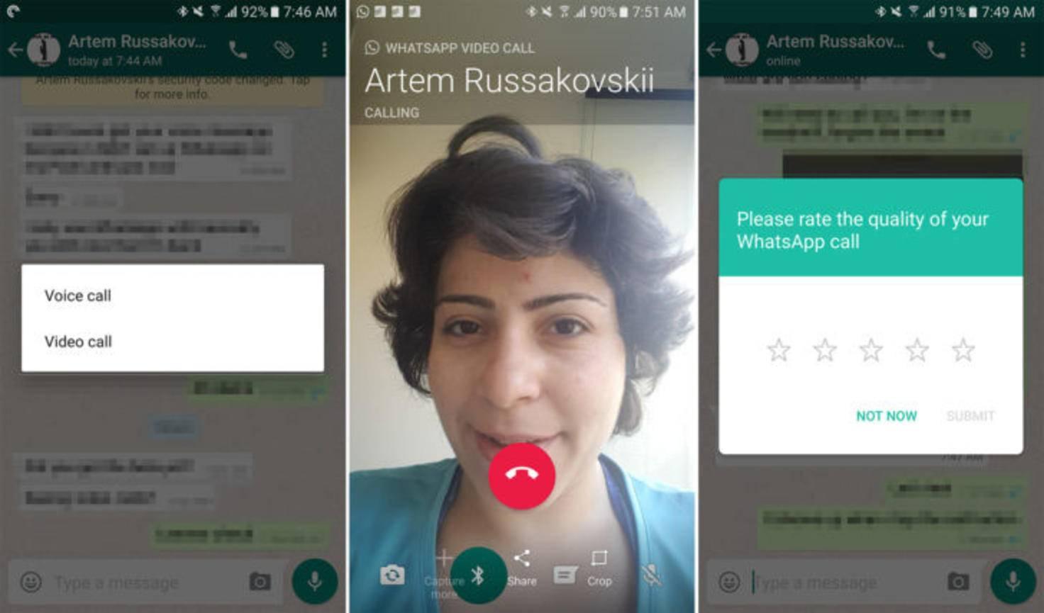 WhatsApp-Videocall