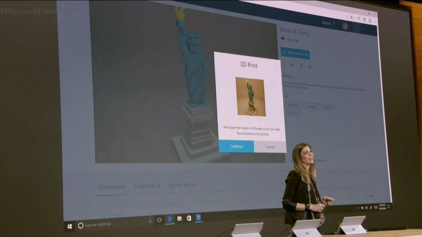 Windows 10 Drucker 3D