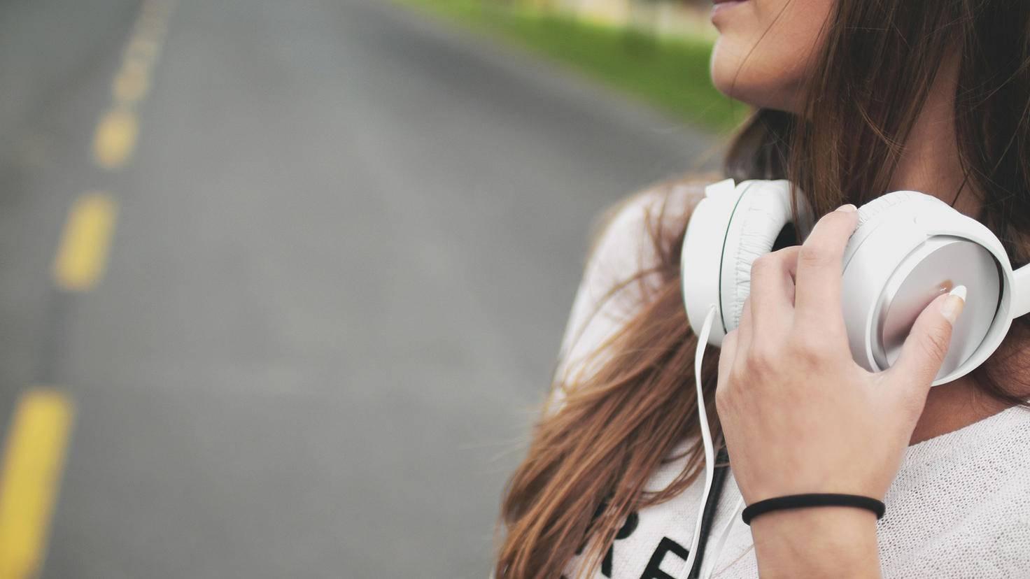 Musik bringt einen auf andere Gedanken.