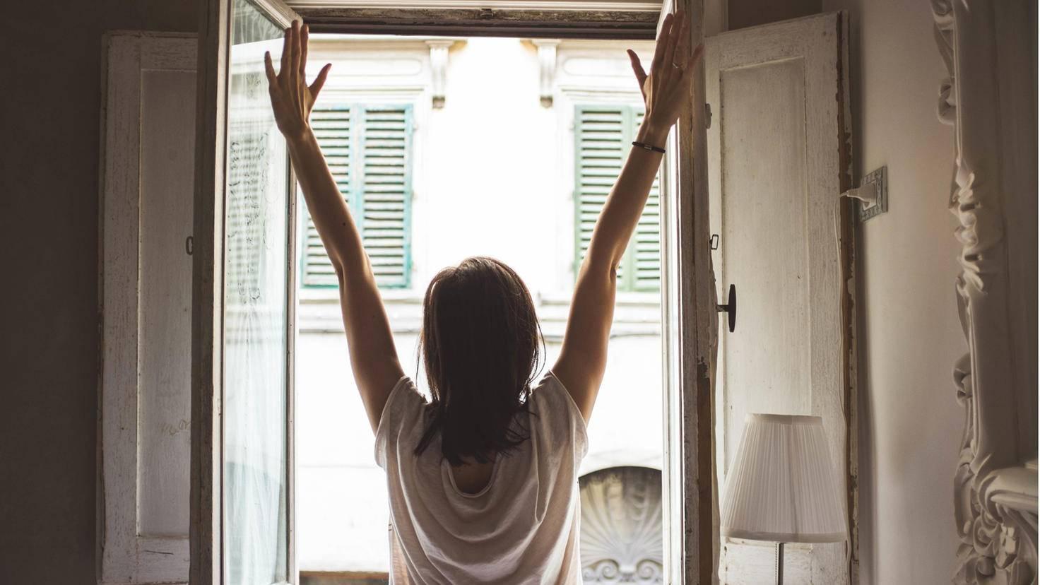 Frischer Sauerstoff im Schlafgemach sorgt für einen erholsamen Schlaf.