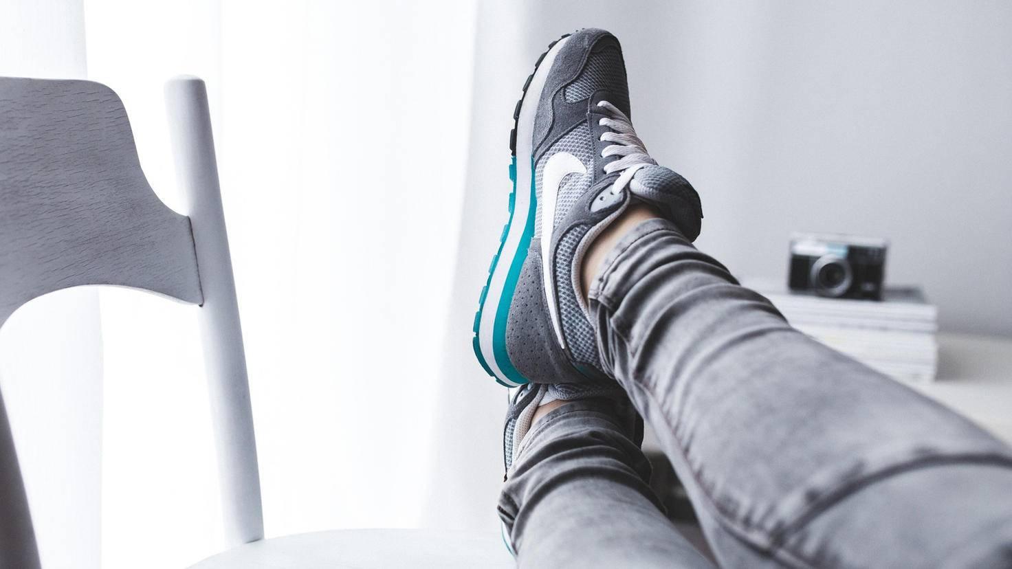 Füßehochlegen ist an Rest Days ausdrücklich erlaubt.