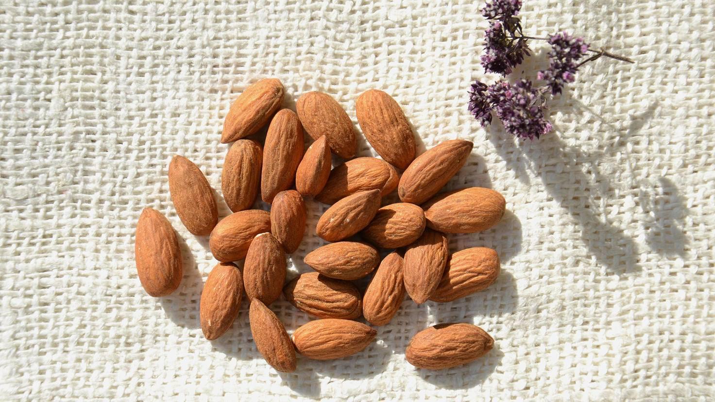 Mandeln sind gar keine Nüsse. Sie gehören zu den Steinfrüchten.
