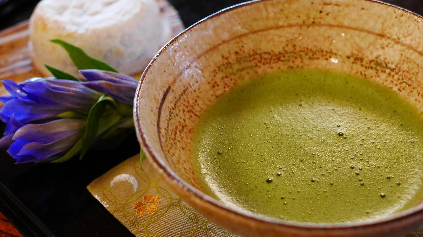 Matcha ist ein traditioneller Bestandteil der japanischen Teezeremonie.