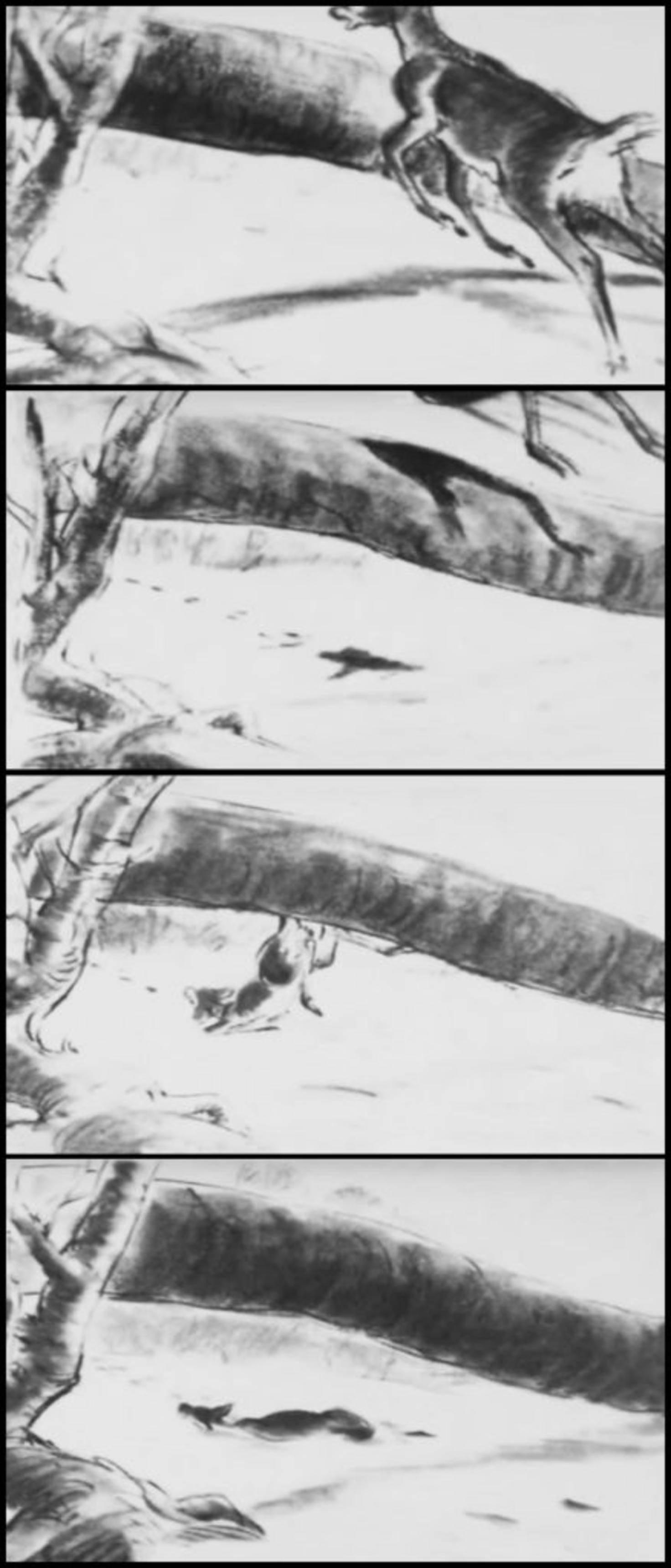 """Diese Szene wurde aus """"Bambi"""" gestrichen."""
