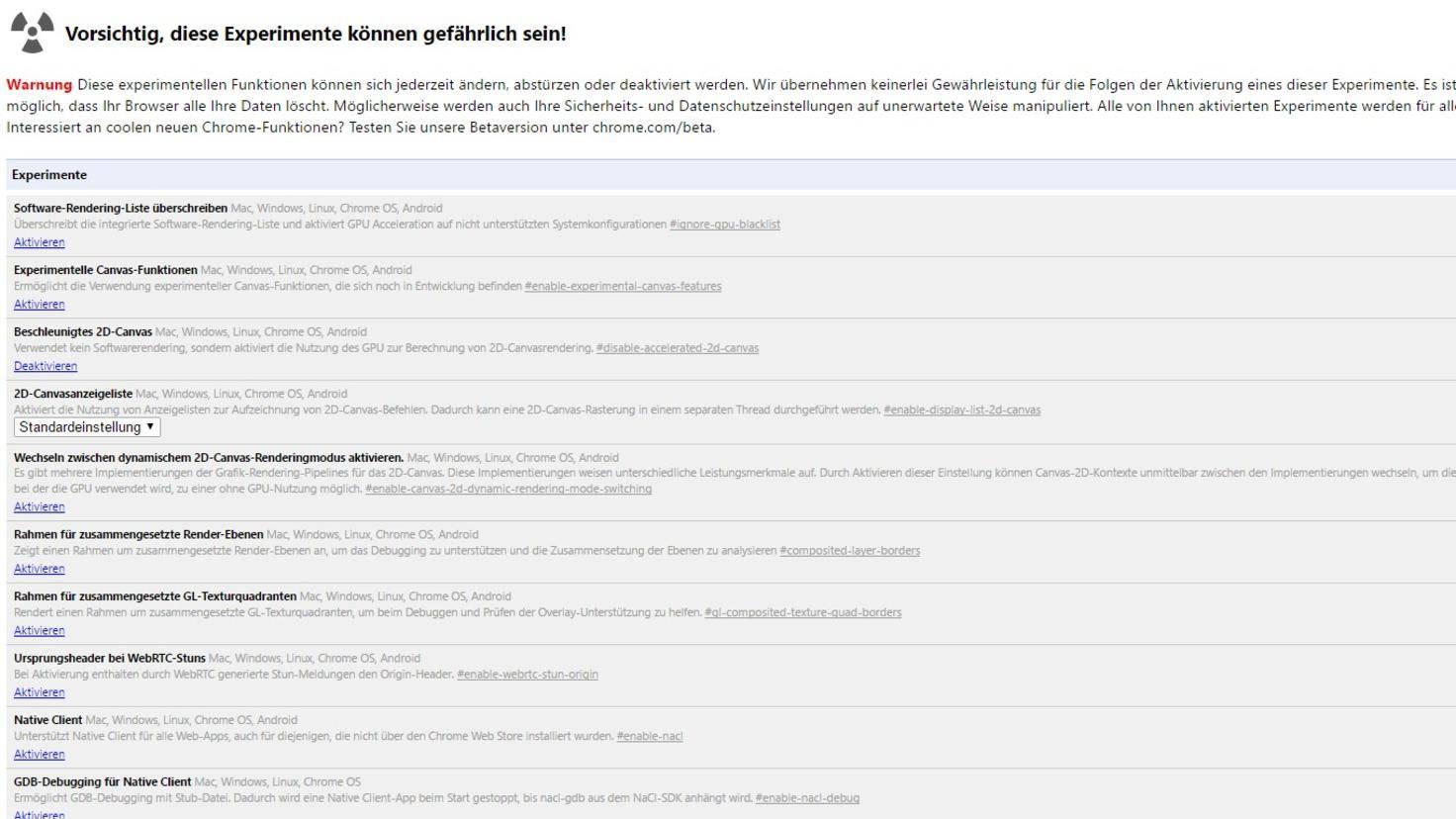 Chrome Adressleiste Oben