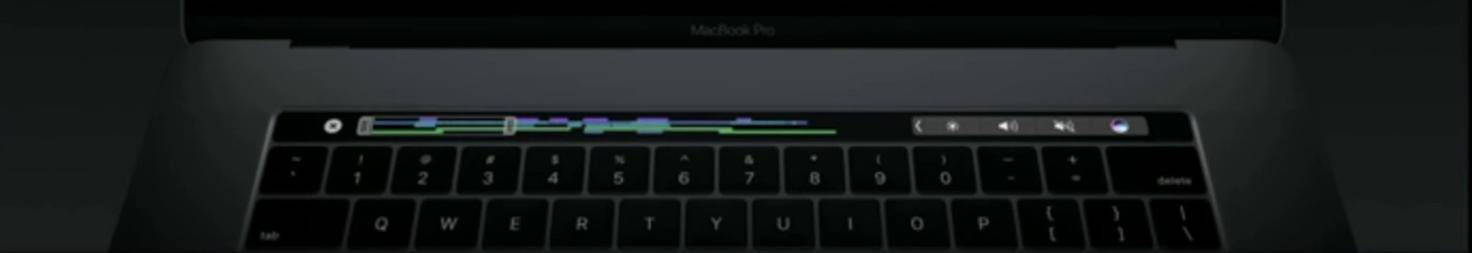 Final Cut Touch Bar Mac
