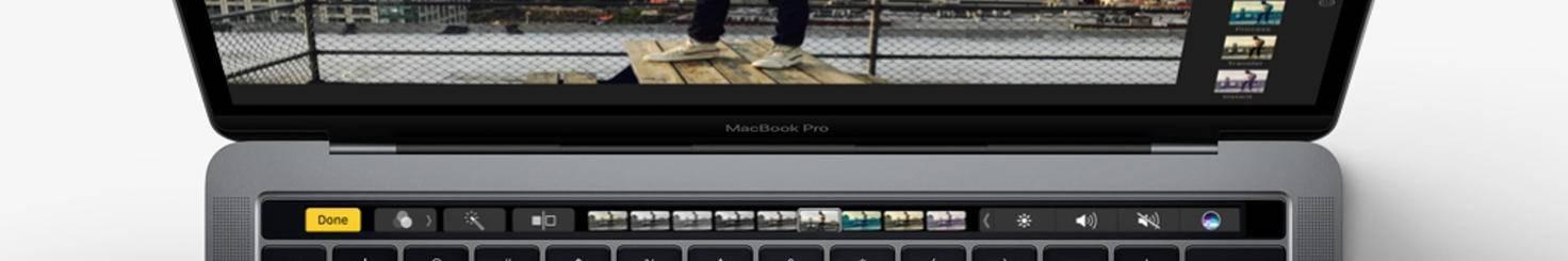 Foto Touch Bar Mac