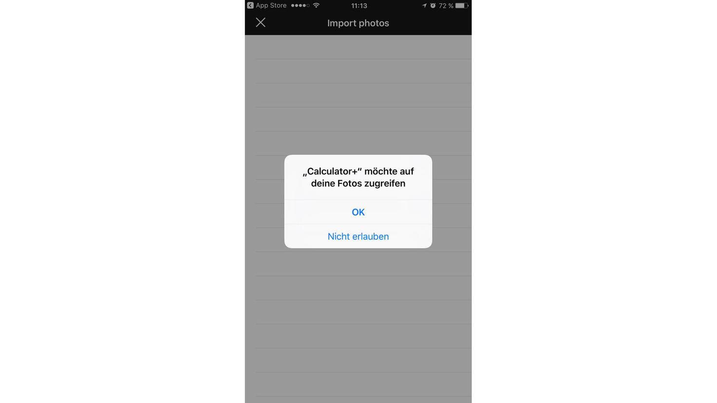 iPhone Fotos verstecken