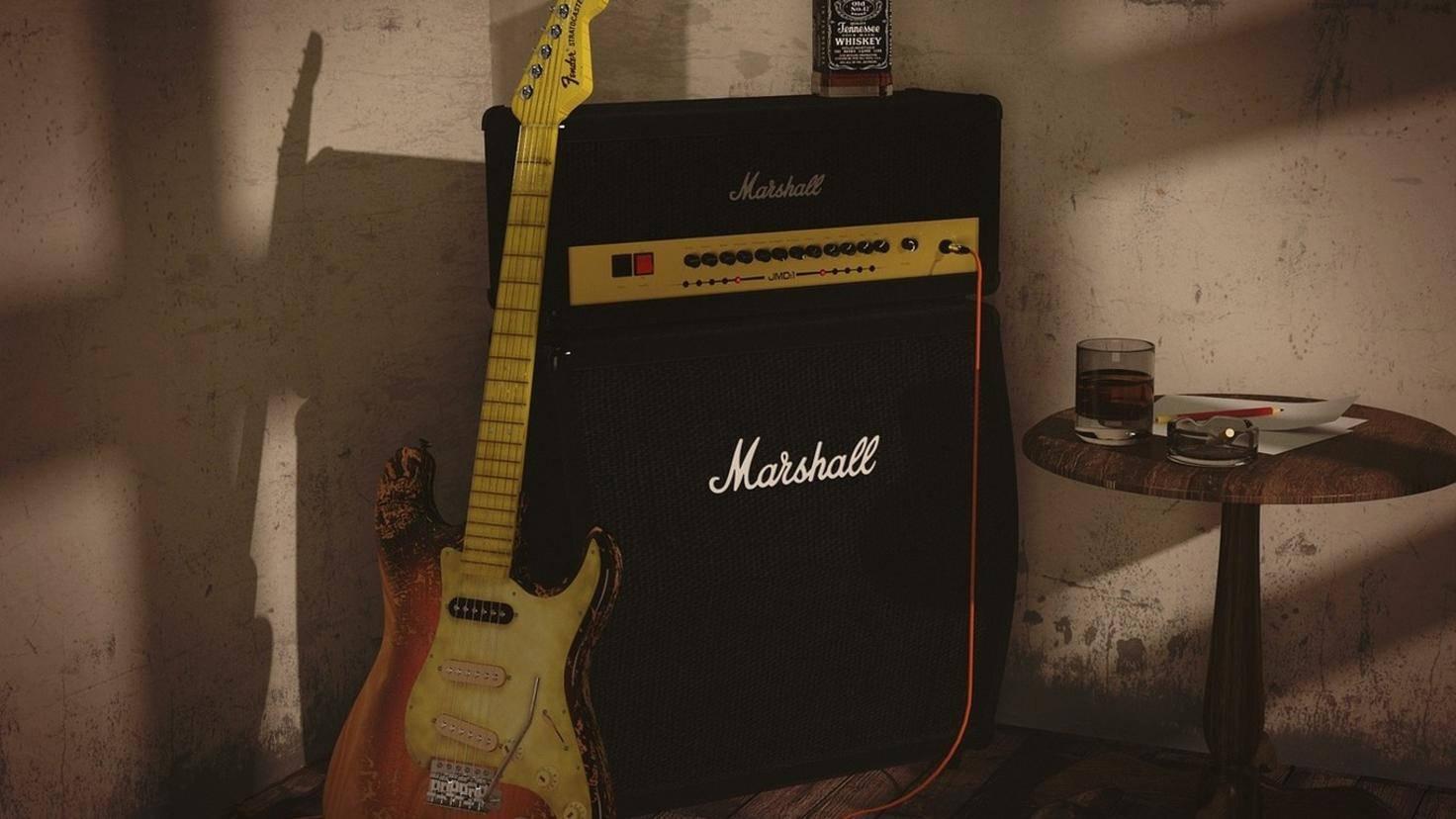 Gitarre Verstärker Lautsprecher Marshall Pixabay