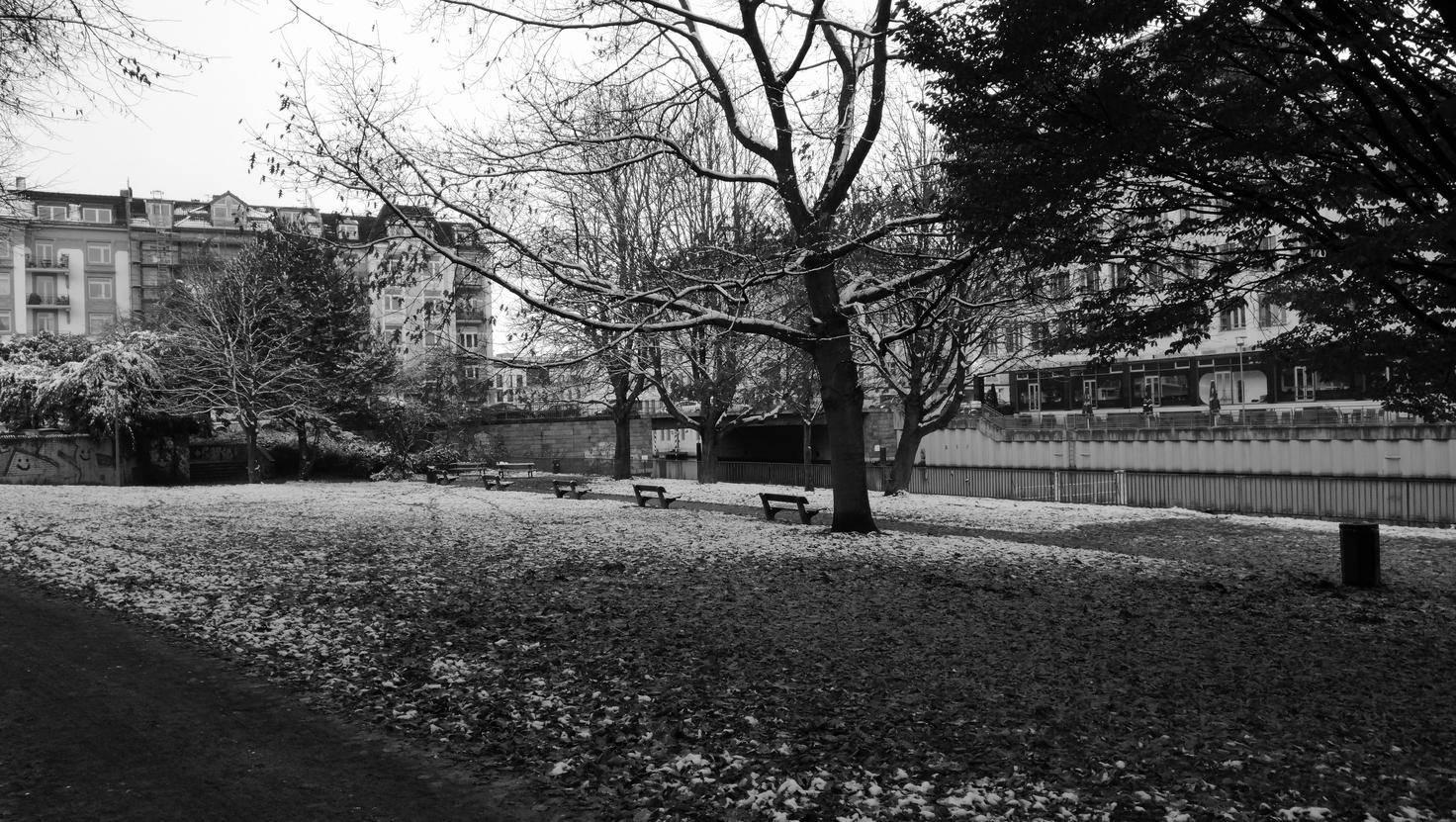 Die Schwarz-Weiß-Bilder haben einen gewissen Leica-Flair.