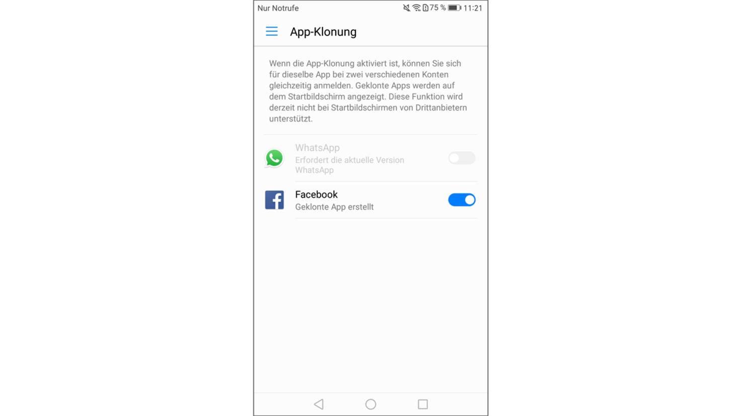 Huawei Mate 9 Screenshot 23