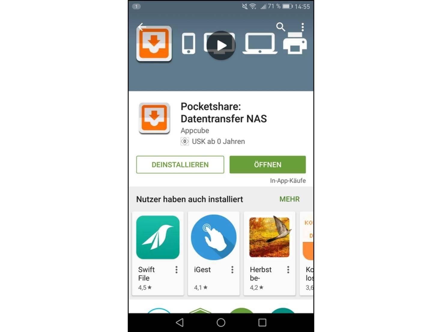Pocketshare Android 07