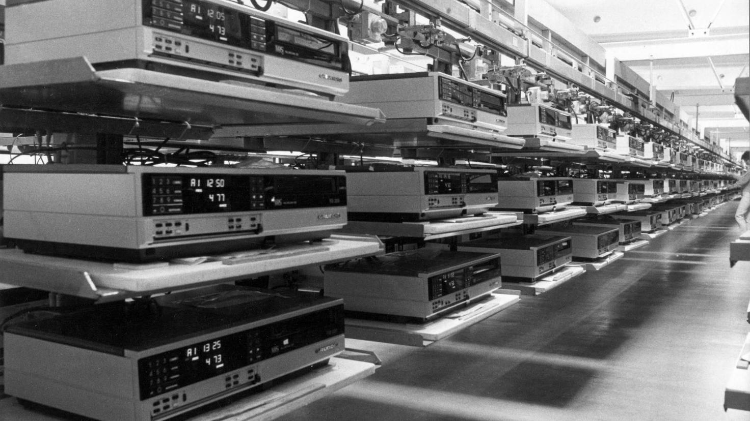 VHS-Videorekorder von Grundig
