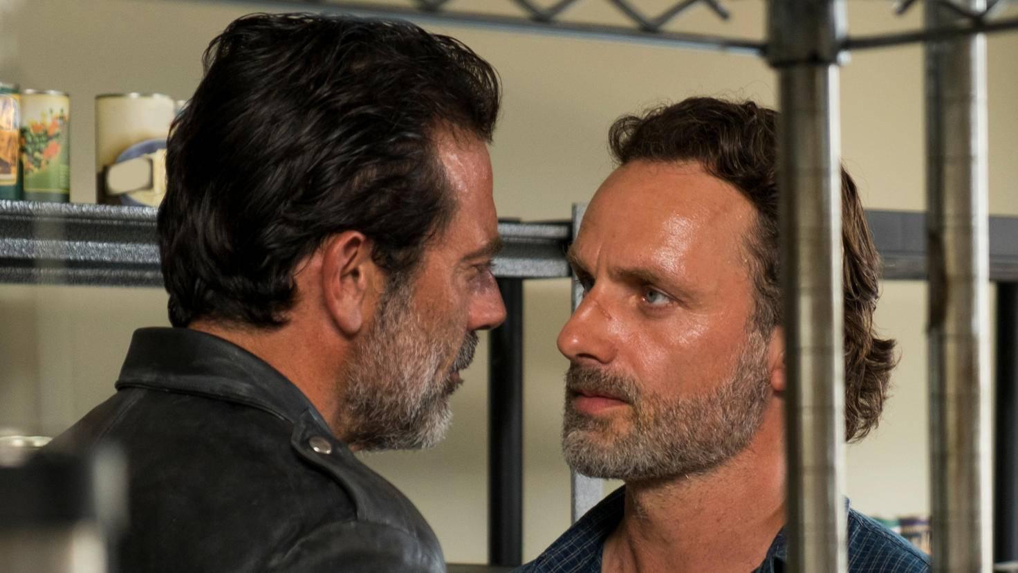 Walking Dead Negan Rick
