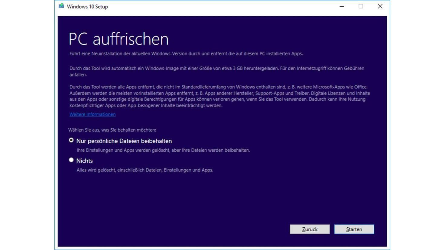 Windows Refresh Tool