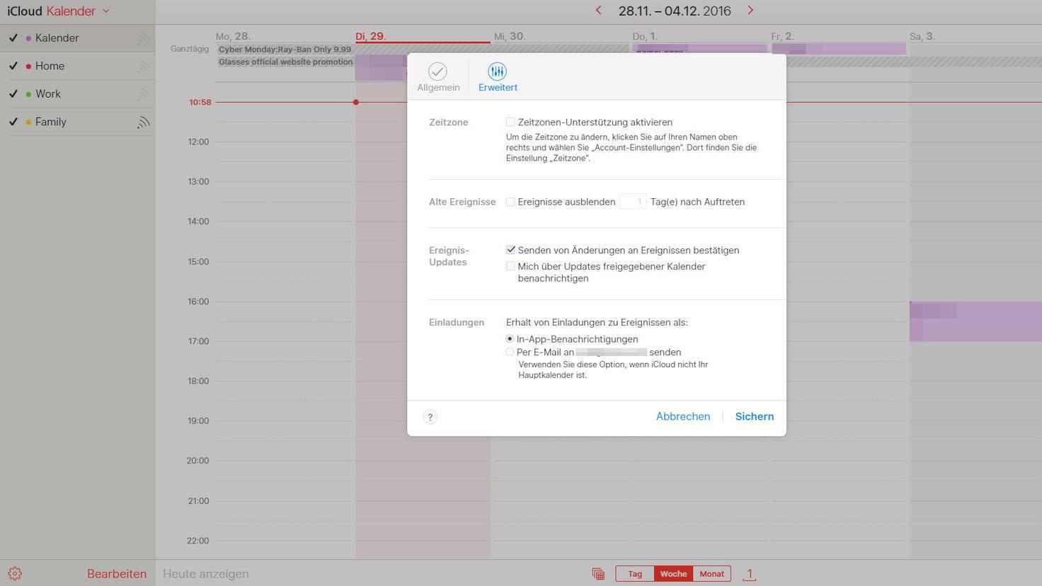 iCloud-Spam