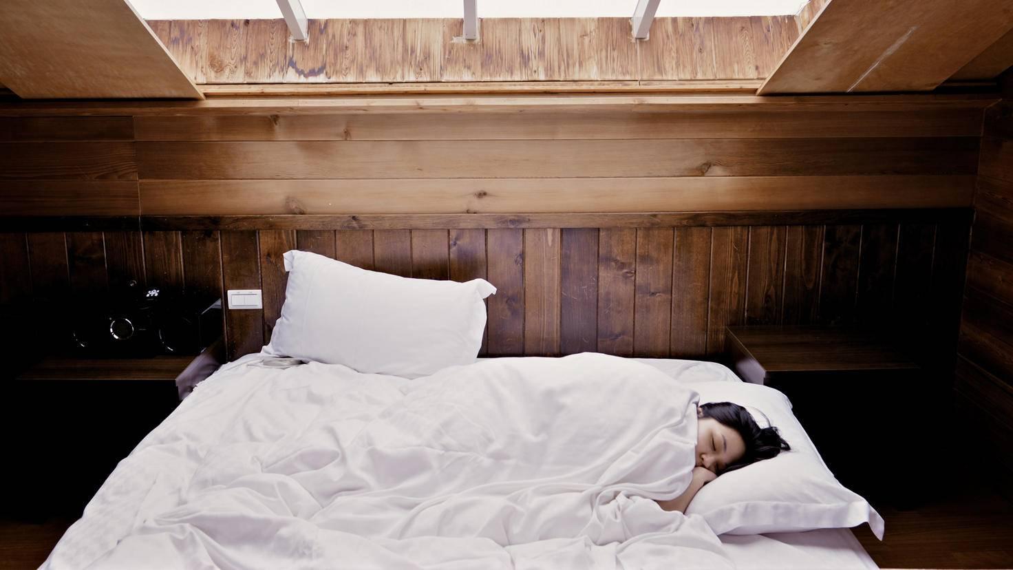 Im Schlaf kann sich der Körper optimal regenerieren.