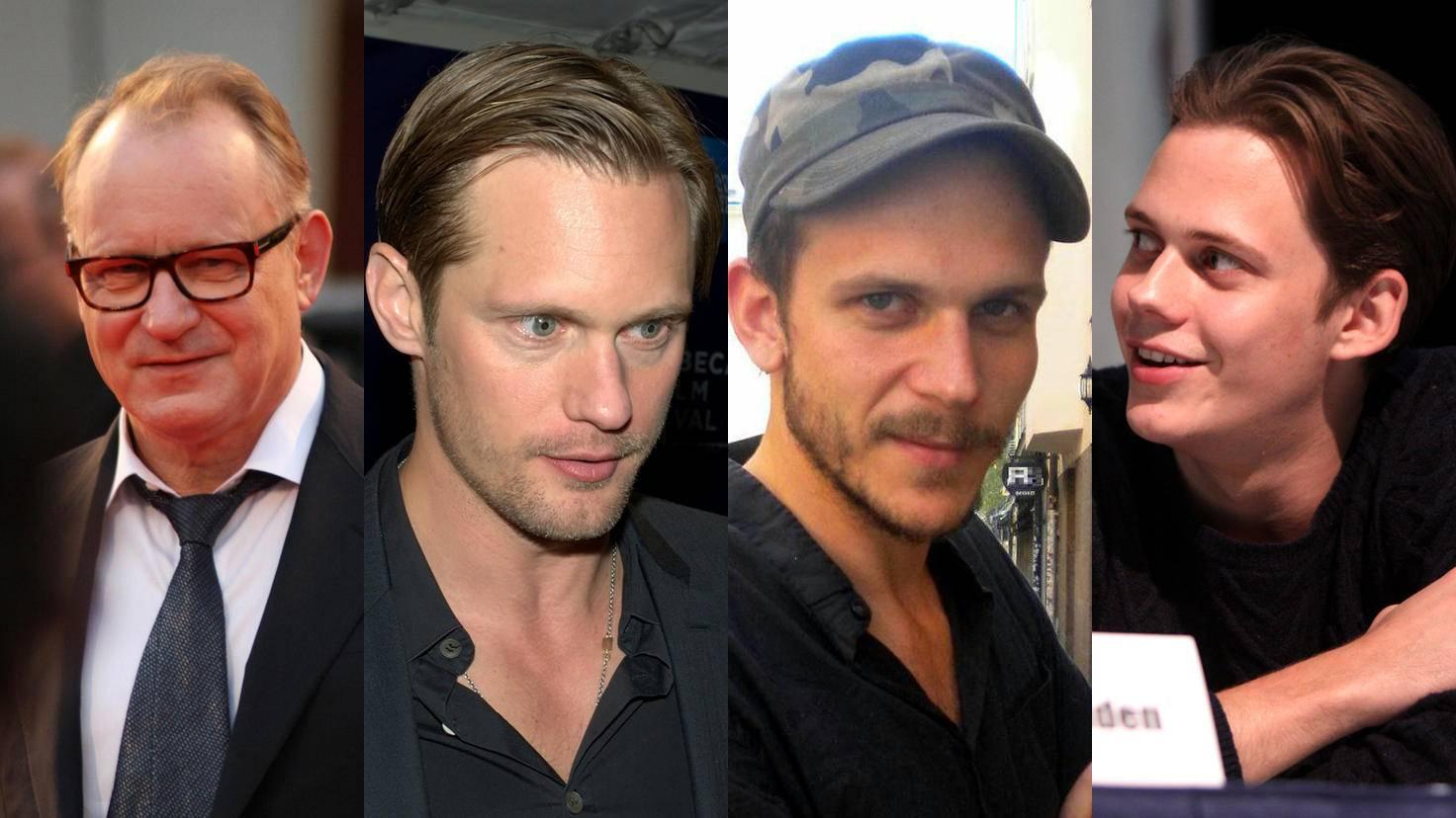 Unverkennbar verwandt: Stellan, Alexander, Gustaf und Bill Skarsgård